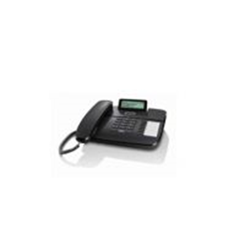 Gigaset DA710 desk phone (BE) with display, caller ID and handsfree, Black
