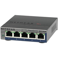 ProSafe Plus 5port Gig. Ethernet switch  unmanaged Switch  5x 10/100/1000 desktop