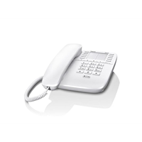 Gigaset DA510 desk phone without (BE) display caller ID/handsfree, White
