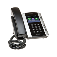 VVX 501 12-line Business Media Phone with HD Voice SKYPE FOR BUSINESS